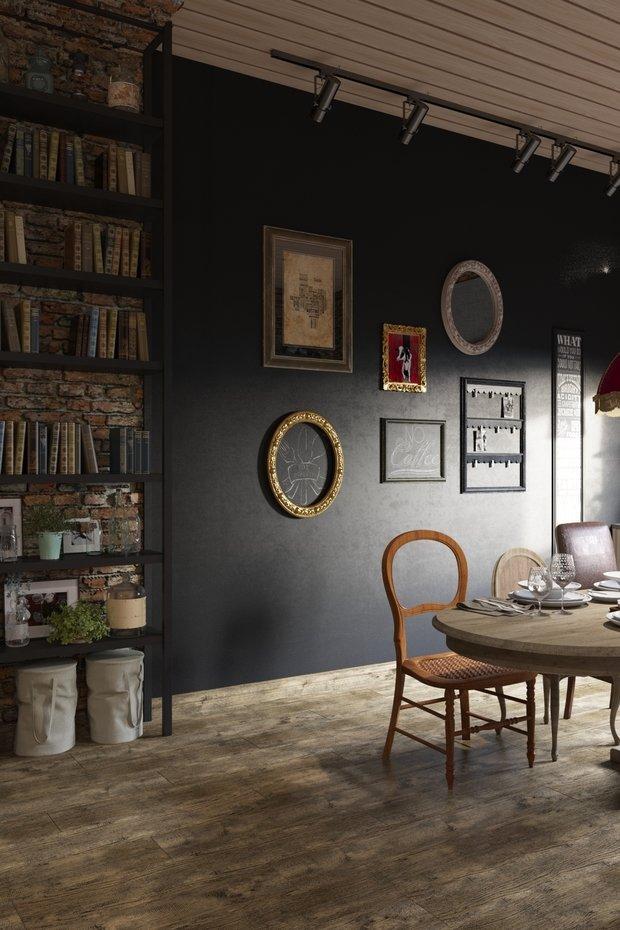 Фотография: Декор в стиле Эклектика, Квартира, Проект недели, Москва, Светлана Гаврилова, 3 комнаты, Более 90 метров – фото на INMYROOM