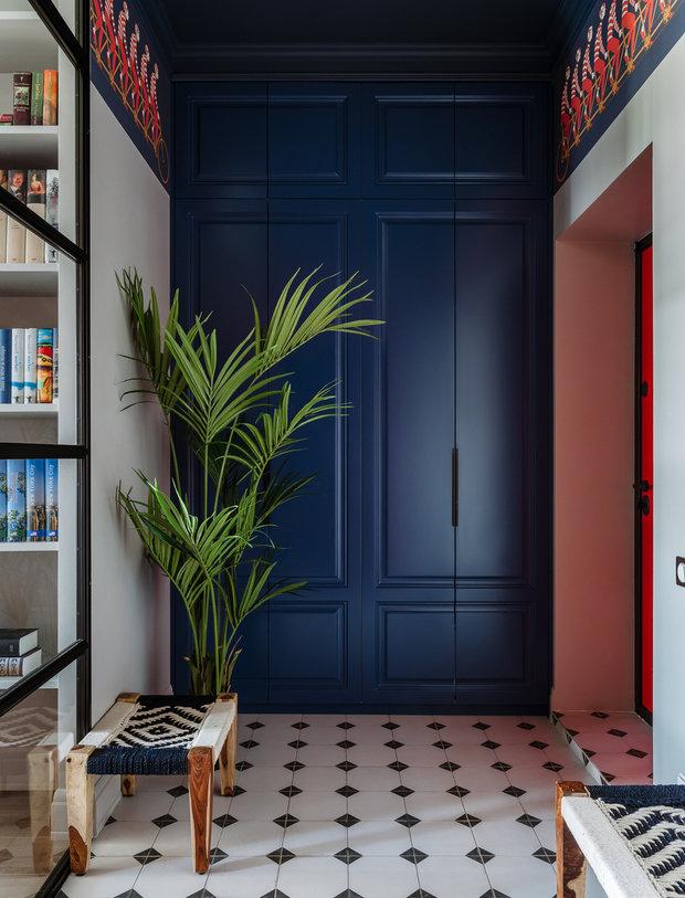 Фотография: Прихожая в стиле Современный, Уютная квартира, Олеся Шляхтина, Анна Моджаро, Elements, Pallage Studio, ПРЕМИЯ INMYROOM – фото на INMYROOM