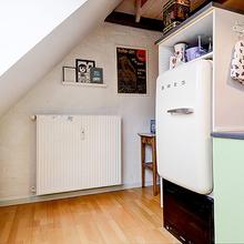 Фотография: Кухня и столовая в стиле Кантри, Скандинавский, Малогабаритная квартира, Квартира, Швеция, Дома и квартиры – фото на InMyRoom.ru