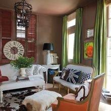 Фотография: Гостиная в стиле Классический, Современный, Декор интерьера, Декор дома, Цвет в интерьере – фото на InMyRoom.ru