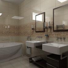 Фото из портфолио Ванная. Таунхаус – фотографии дизайна интерьеров на INMYROOM