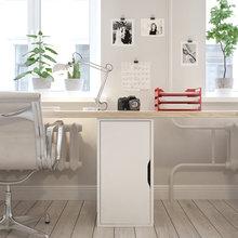 Фотография: Офис в стиле Скандинавский, Современный, Квартира, Дома и квартиры, Проект недели – фото на InMyRoom.ru