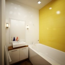 Фото из портфолио Двухкомнатная квартира 56.83 – фотографии дизайна интерьеров на INMYROOM