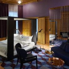 Фотография: Спальня в стиле Современный, Дом, Дома и квартиры, Отель, Проект недели – фото на InMyRoom.ru