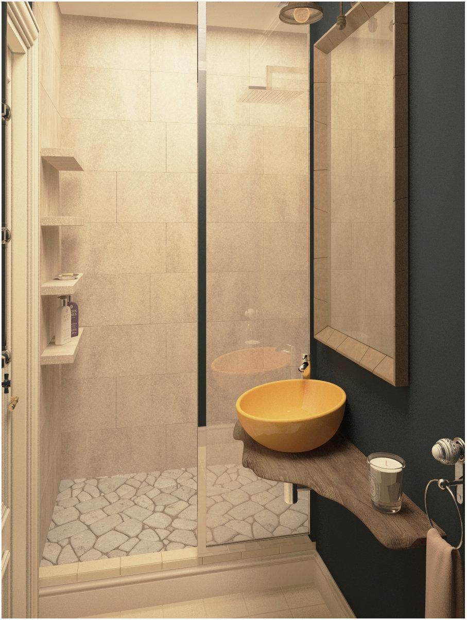 Фотография: Ванная в стиле Лофт, Квартира, Цвет в интерьере, Дома и квартиры, Проект недели, Серый – фото на InMyRoom.ru