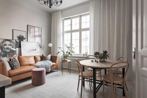 Фотография:  в стиле , Декор интерьера, Малогабаритная квартира, Квартира, Швеция – фото на InMyRoom.ru