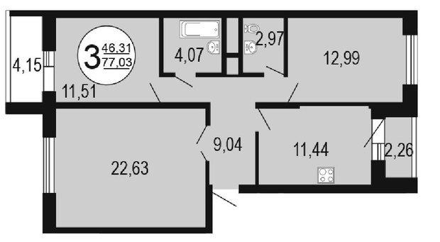 Помогите с перепланировкой квартиры.