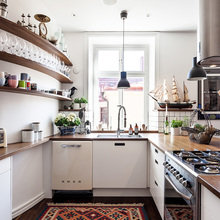 Фото из портфолио Великолепная двухуровневая квартира – фотографии дизайна интерьеров на INMYROOM