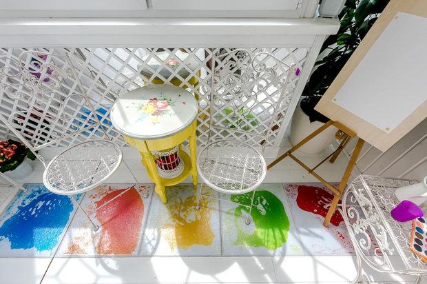 Фотография: Балкон, Терраса в стиле Современный, Детская, Декор интерьера, Интерьер комнат – фото на InMyRoom.ru