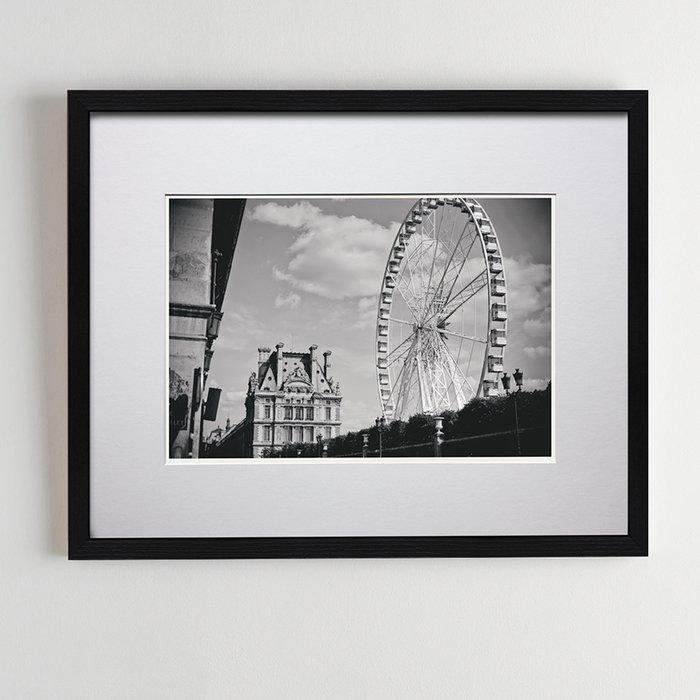 """Авторское фото в раме. """"Париж. История третья"""""""