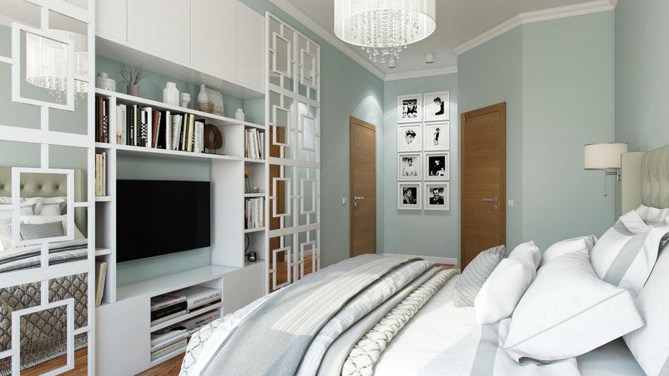Фотография: Спальня в стиле Современный, Квартира, Проект недели, Санкт-Петербург, новостройка, Дарья Пикова, Монолитный дом, 4 и больше, Более 90 метров – фото на InMyRoom.ru