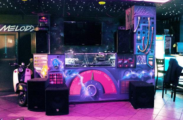 Фото из портфолио Роспись интерьера в барах – фотографии дизайна интерьеров на INMYROOM