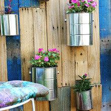 Фотография: Флористика в стиле , Балкон, Декор интерьера, DIY, Дом, Стиль жизни, Цветы, специальная тема: балконы – фото на InMyRoom.ru