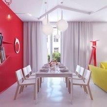 Фотография: Кухня и столовая в стиле Скандинавский, Современный, Эклектика – фото на InMyRoom.ru