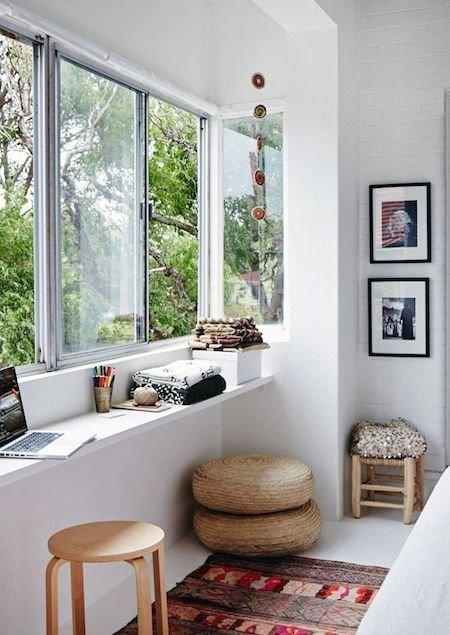 Фотография: Офис в стиле Скандинавский, Кабинет, Интерьер комнат – фото на INMYROOM