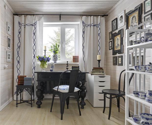 Фотография: Кабинет в стиле Прованс и Кантри, Гид, Belinka, как покрасить дачу, дачные домики – фото на INMYROOM