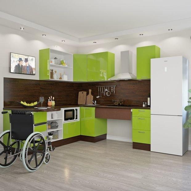 Кухня для особенных семей «Васаби», Leroy Merlin
