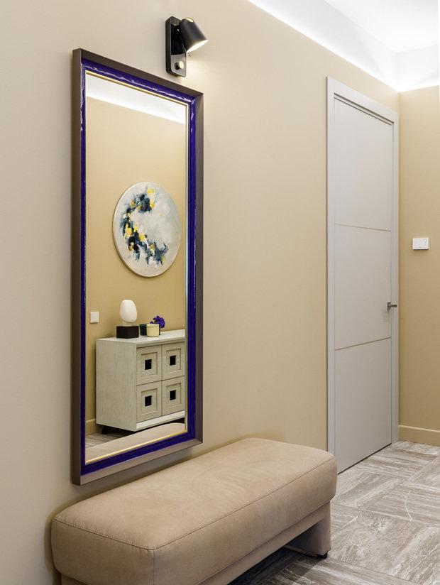 Фотография: Прихожая в стиле Современный, Квартира, Проект недели, Санкт-Петербург, 3 комнаты, Более 90 метров, Аушрине Железнова – фото на INMYROOM