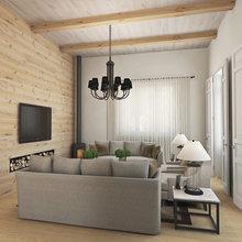 Фото из портфолио Загородный дом на выходные – фотографии дизайна интерьеров на InMyRoom.ru