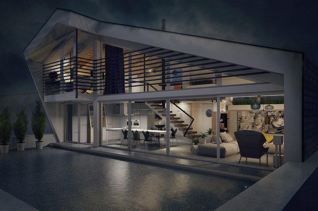 Фото из портфолио  penthouse Олимп – фотографии дизайна интерьеров на INMYROOM