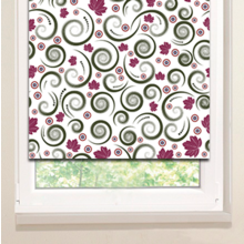 Рулонные шторы: Спираль клена