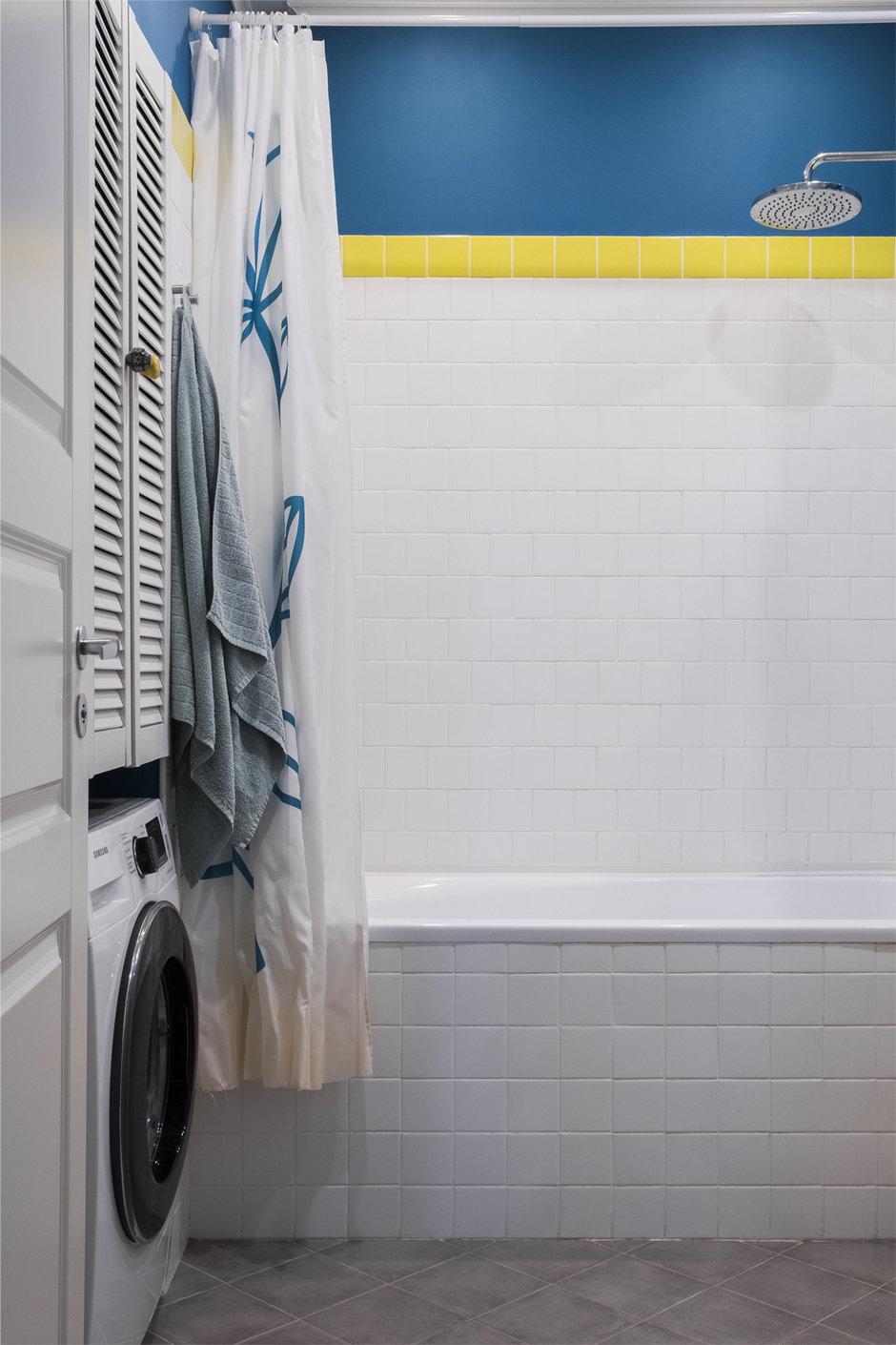 Фотография: Ванная в стиле Скандинавский, Квартира, Проект недели, Раменское, Елена Ивашкина, Монолитный дом, 3 комнаты, 40-60 метров – фото на InMyRoom.ru