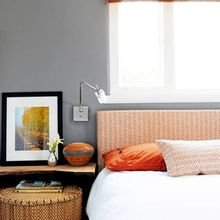 Фотография: Спальня в стиле Кантри, Современный, Декор интерьера, Декор дома, Цвет в интерьере – фото на InMyRoom.ru