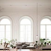 Фотография: Гостиная в стиле , Скандинавский, Декор интерьера, Швеция, Декор дома, Цвет в интерьере, Белый – фото на InMyRoom.ru