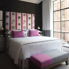 Фотография: Спальня в стиле Современный, Дома и квартиры, Городские места, Отель, Большие окна – фото на InMyRoom.ru