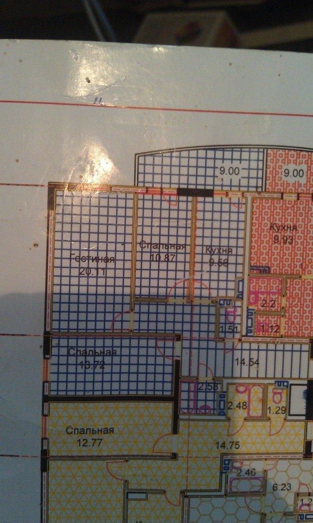 Помогите с планировкой мебели в квартире