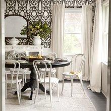 Фотография: Кухня и столовая в стиле Кантри, Классический, Декор интерьера, Дизайн интерьера, Цвет в интерьере – фото на InMyRoom.ru