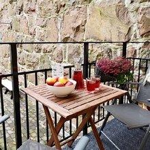 Фотография: Балкон, Терраса в стиле Кантри, Современный, Малогабаритная квартира, Квартира, Швеция, Дома и квартиры – фото на InMyRoom.ru