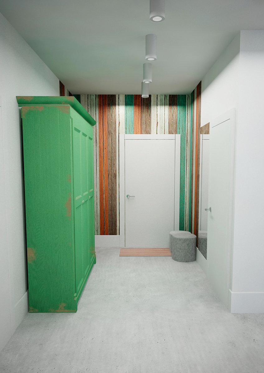 Фотография: Прихожая в стиле Лофт, Скандинавский, Квартира, Дома и квартиры, IKEA, Проект недели – фото на InMyRoom.ru