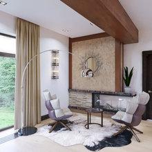 Фото из портфолио Дизайн проект загородного шале – фотографии дизайна интерьеров на INMYROOM