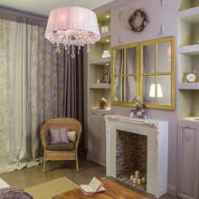 Фотография: Гостиная в стиле Кантри, Классический, Эклектика, Квартира, Проект недели – фото на InMyRoom.ru