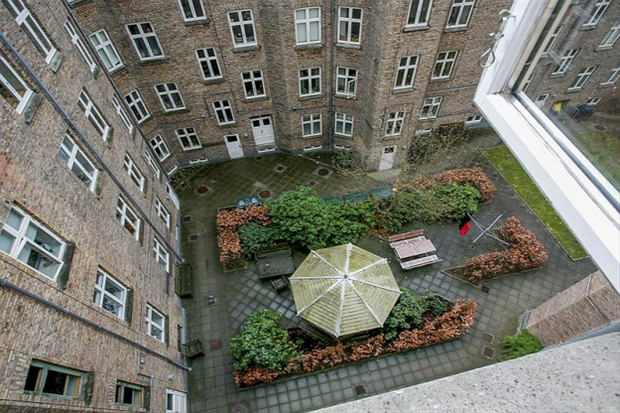 Фотография: Ландшафт в стиле , Скандинавский, Малогабаритная квартира, Квартира, Дома и квартиры – фото на InMyRoom.ru