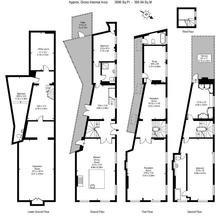 Фотография: Планировки в стиле , Эклектика, Дом, Цвет в интерьере, Дома и квартиры, Белый, Лондон – фото на InMyRoom.ru