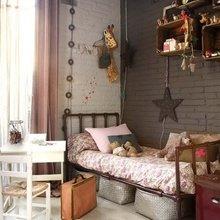 Фотография: Детская в стиле Кантри, Лофт, Современный, Интерьер комнат, Системы хранения – фото на InMyRoom.ru
