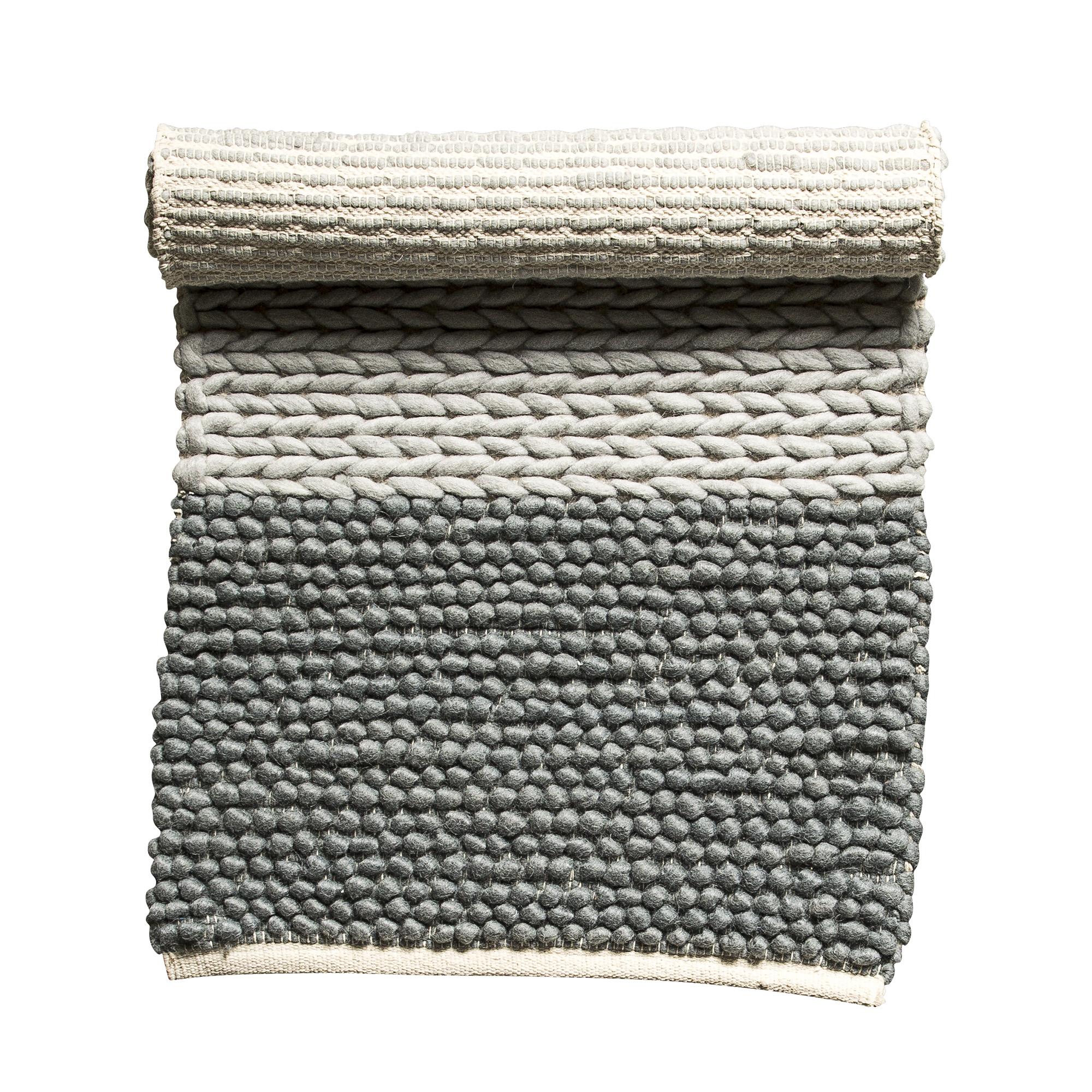 Купить Ковер Rope Grey серого цвета 120х60 см, inmyroom, Дания