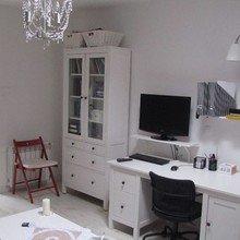 Фотография: Кабинет в стиле Скандинавский, Мебель и свет, IKEA, Интервью, ИКЕА – фото на InMyRoom.ru