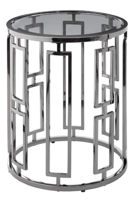 Купить Приставной столик Terni Accent со стеклянной столешницей, inmyroom, Великобритания