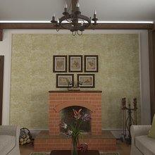 Фото из портфолио Интерьер 1го этажа загородного дома  – фотографии дизайна интерьеров на INMYROOM