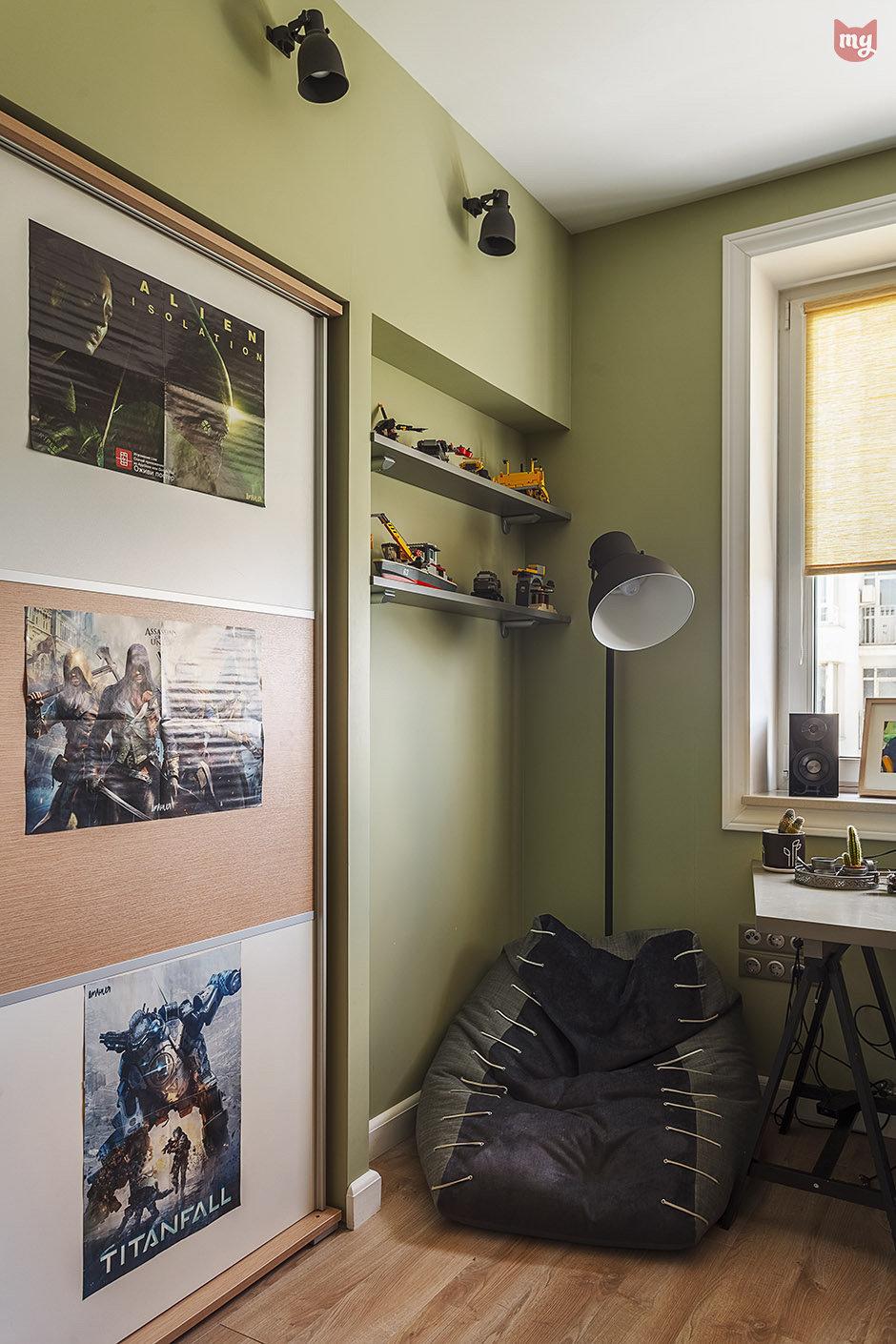 Фотография: Детская в стиле Скандинавский, Квартира, Проект недели, Наталья Сорокина – фото на InMyRoom.ru