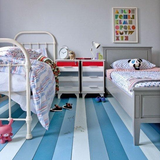 Фотография: Детская в стиле Прованс и Кантри, Декор интерьера, Декор дома, Пол – фото на InMyRoom.ru