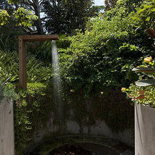 Фотография: Ландшафт в стиле Современный, Ванная, Дом, Стиль жизни, Дача – фото на InMyRoom.ru