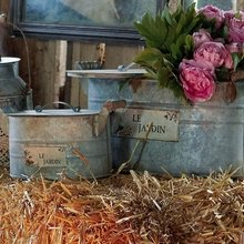 Фотография: Декор в стиле Кантри, DIY, Ландшафт, Аксессуары, Мебель и свет, Терраса, Дача, Дом и дача, DIY-идеи для дачи – фото на InMyRoom.ru