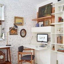Фотография: Кабинет в стиле Скандинавский, Малогабаритная квартира, Советы – фото на InMyRoom.ru