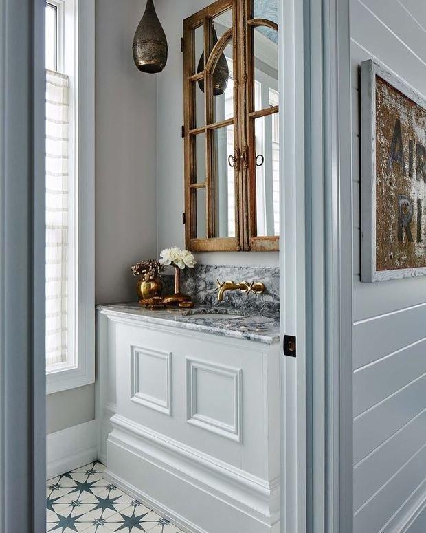 Фотография: Ванная в стиле Прованс и Кантри, Декор интерьера, Дача, Дом и дача – фото на INMYROOM
