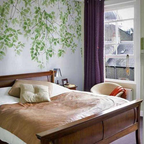 Фотография: Спальня в стиле Прованс и Кантри, Декор интерьера, Декор дома, Цвет в интерьере, Обои – фото на InMyRoom.ru