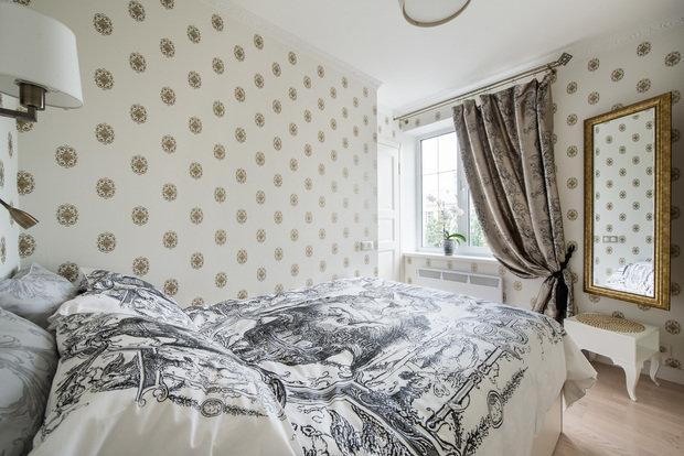 Фотография: Спальня в стиле Классический, Малогабаритная квартира, Квартира, Декор, Дома и квартиры, IKEA, Проект недели – фото на InMyRoom.ru